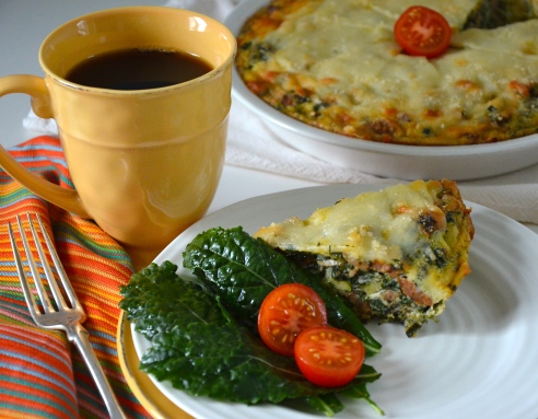 Spinach and Sausage Frittata