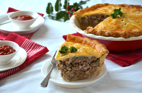 French Canadian Tourtière