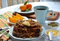 Orange Cardamom, Panettone French Toast