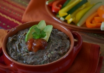 Super Quick and Healthy Black Bean Dip