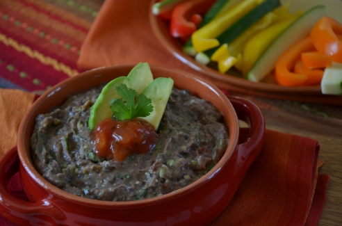 Super Quick and Healthy Black Bean Dip