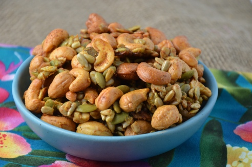 Pumpkin Seed and Cashew Crunch