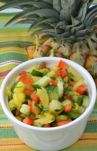 Pineapple Cucumber Relish