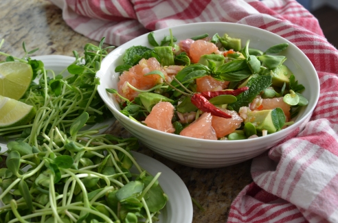 Grapefruit Salad, Saigon Style