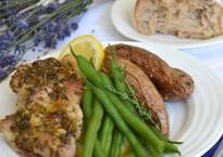 Lemon Lavender Chicken