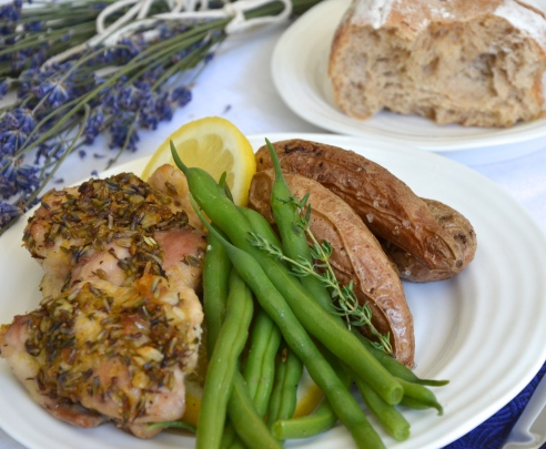 Lemon Lavender Chicken
