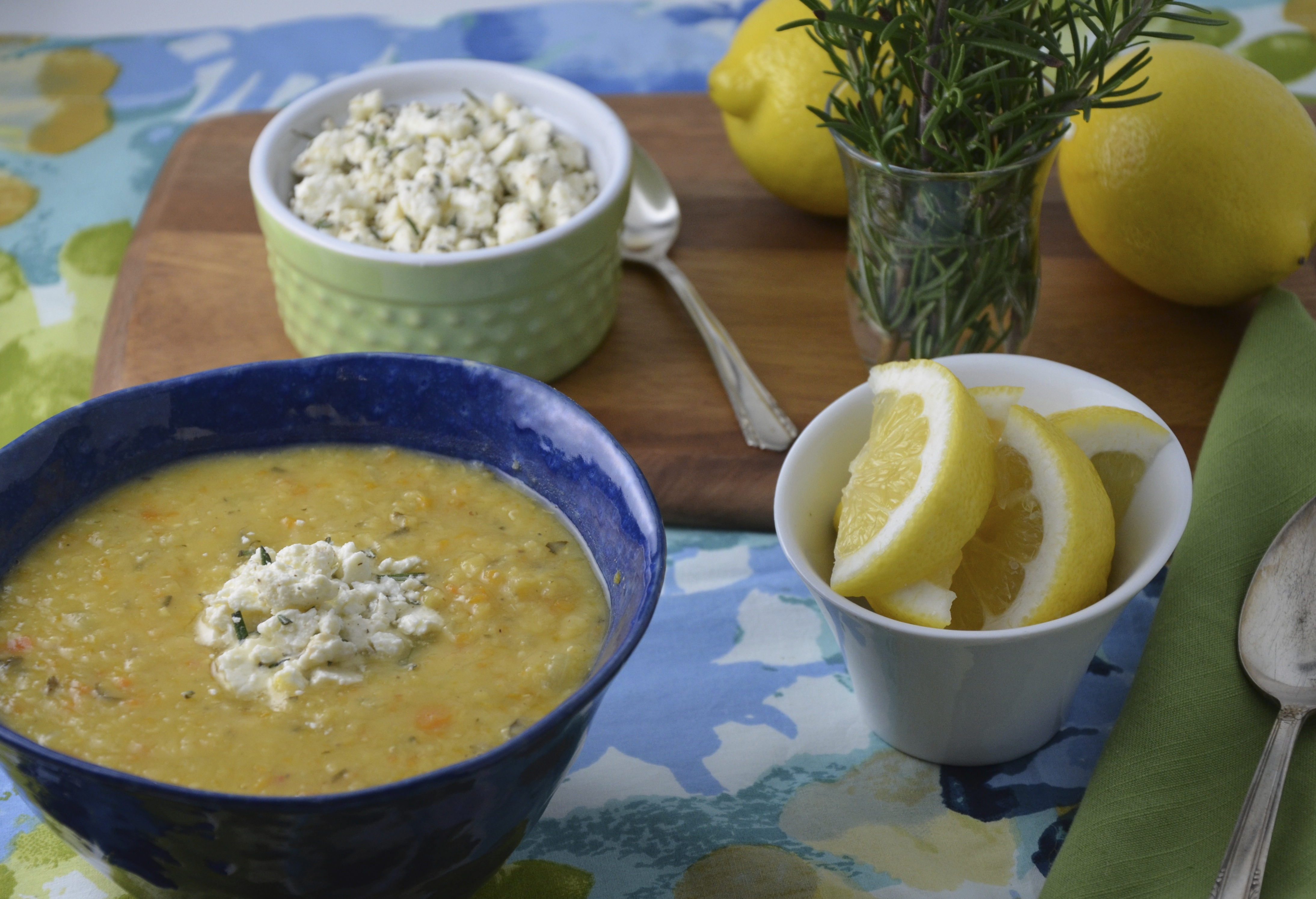 Greek Lentil Soup With Red Pepper And Feta Recipes — Dishmaps