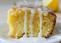 Honey,Lemon and Almond Cake