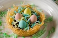 Kataifi Easter Nests