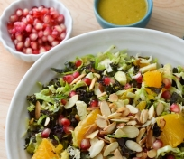Crunchy Brussels Sprouts and Citrus Salad