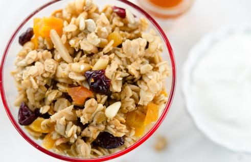 Serve with some Greek yogurt and honey.