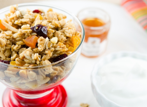 Fennel-Honey Granola