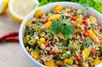 Mango and Coconut Rice Salad