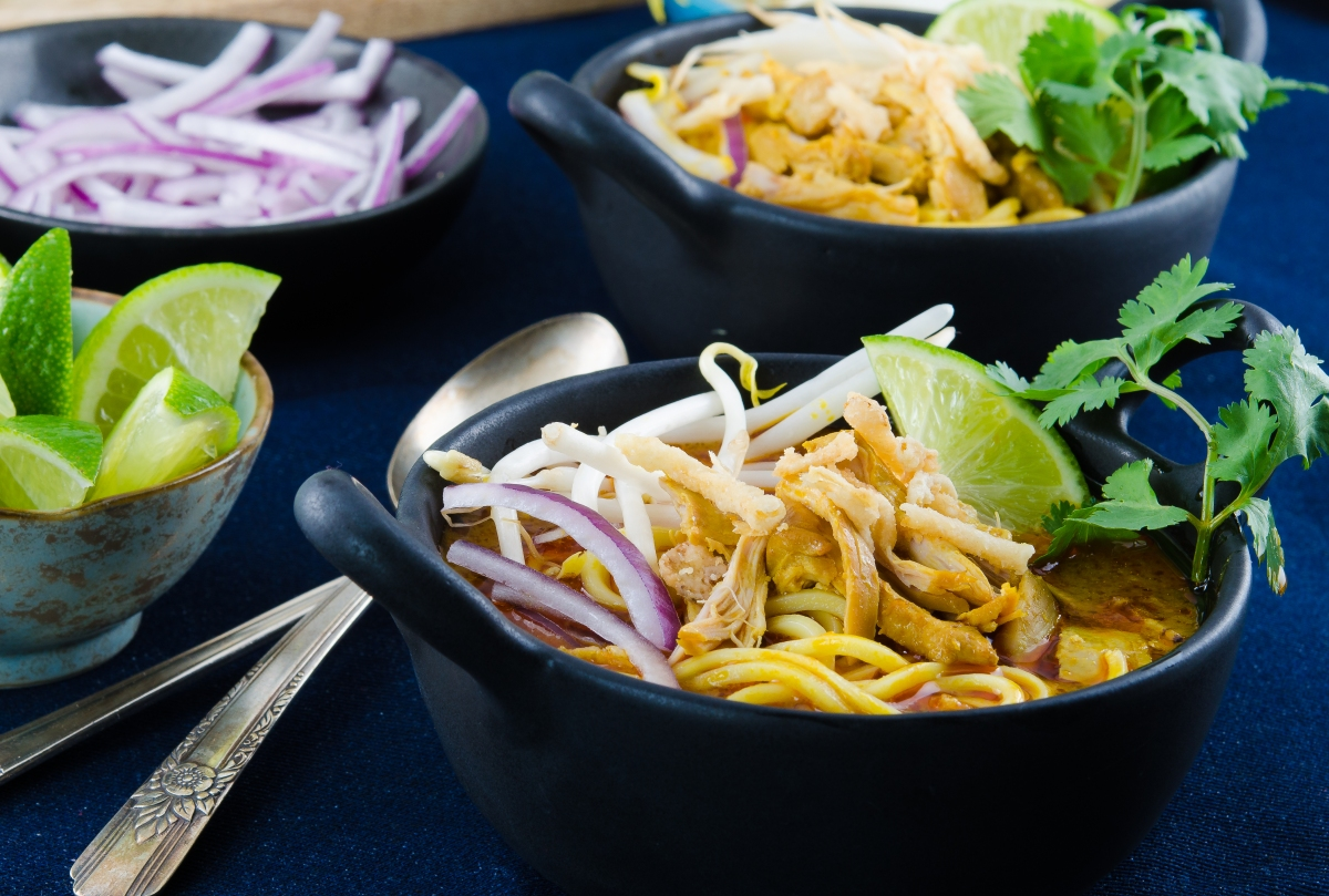 Chicken Khao Soi | Foodie On Board