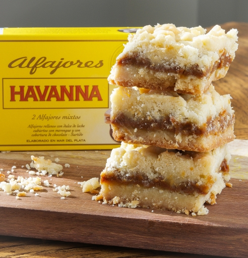 Salted Alfajores Bars