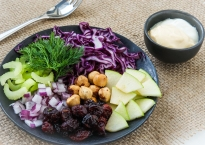 Re-Vamped Waldorf Salad with Homemade Mayonnaise