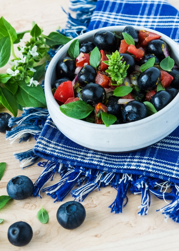 Fresh Blueberry Salsa