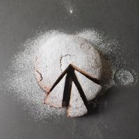Buckwheat Cake with Jam Filling