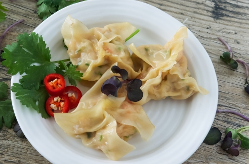 how to make chicken dumplings chinese
