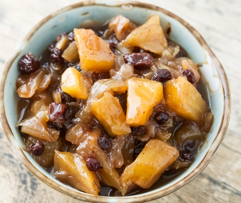 Pineapple and Currant Chutney