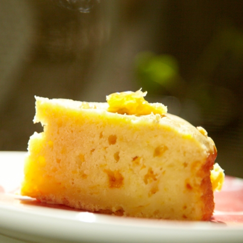 Honey Mandarin Orange Cake