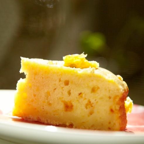 Honey Mandarin Orange Cake