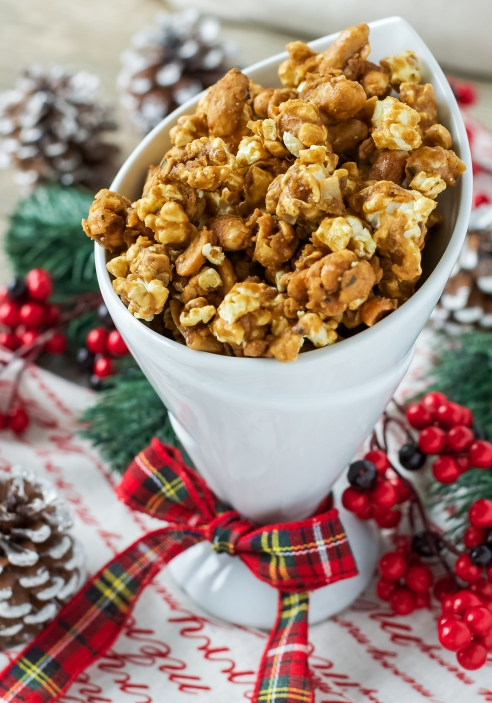 This is a fresh take on traditional caramel corn!