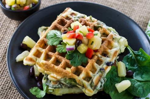 Who said waffles aren't healthy?