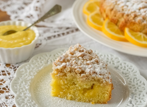 Meyer Lemon - Olive Oil Coffee Cake