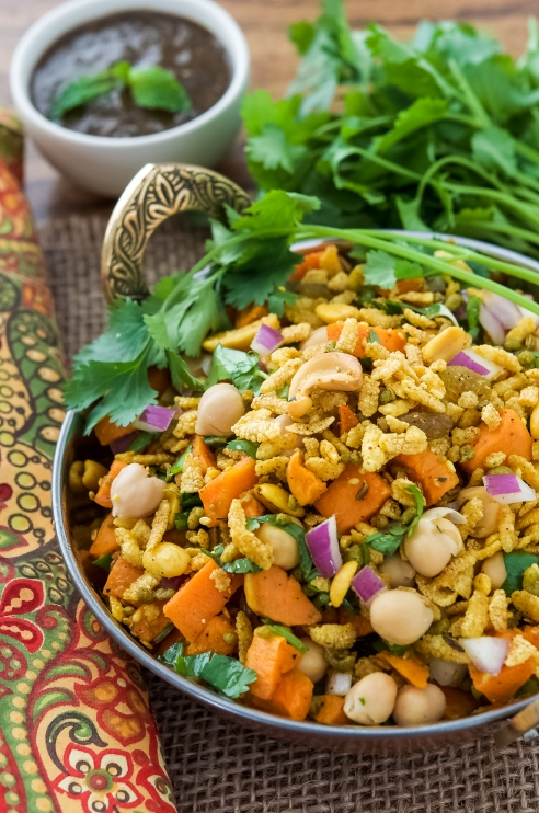 Indian Puffed Rice Salad